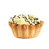 Photo 300 DPI: cream cupcake