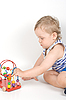 Baby with toy | Stock Foto