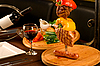 Meat dish on table | Stock Foto