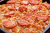 Freshly baked lasagna | Stock Foto