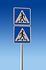 Photo 300 DPI: Pedestrian Sign