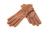 Brown female leather gloves | Stock Foto
