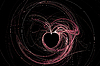 ID 3029336 | Abstract Heart on black | Stockowa ilustracja wysokiej rozdzielczości | KLIPARTO