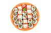The sushi   Stock Foto