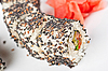 Sushi with sesame   Stock Foto