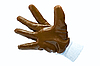 Brown work industrial glove | Stock Foto