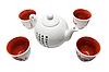 Photo 300 DPI: Tea set in asian style