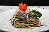 Salad with macaroni | Stock Foto