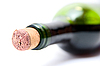 Close-up of bottle of red wine | Stock Foto