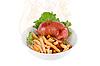 热晚餐 | 免版税照片