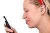 Calling Girl  | Stock Foto