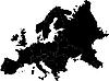 Foto 300 DPI: Karte Europas