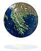 Greek globe | Stock Foto