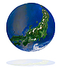 Japanese globe | Stock Foto