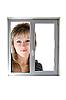 Photo 300 DPI: Woman in window