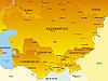 Central Asia | Stock Illustration