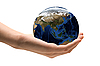 ID 3030669 | World in Hand | High resolution stock photo | CLIPARTO