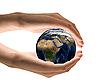 照顾地球   免版税照片