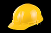 Yellow helmet isolated  | Stock Foto