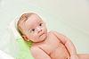 Baby im Bad | Stock Photo