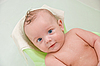 Baby boy in bath | Stock Foto