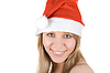 Photo 300 DPI: Pretty santa girl
