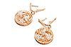 ID 3031090 | Luxury gold earring | Foto stockowe wysokiej rozdzielczości | KLIPARTO