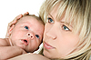 Mammy with baby | Stock Foto