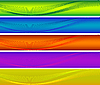 Photo 300 DPI: colorful banners