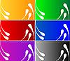Photo 300 DPI: colorful design card