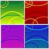 Photo 300 DPI: abstract background set