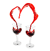 Wine Heart  | Stock Foto