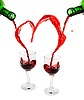 ID 3031494 | Red wine heart | High resolution stock photo | CLIPARTO