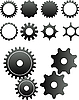 Векторный клипарт: механизмы