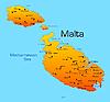 Vector clipart: Malta