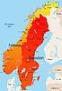 Vektor Cliparts: Norwegen und Schweden