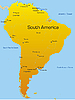 Vektor Cliparts: Südamerika
