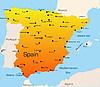 Vektor Cliparts: Spanien