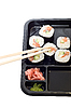 ID 3032078 | Rolki sushi na talerzu | Foto stockowe wysokiej rozdzielczości | KLIPARTO