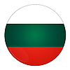 Bulgaria button with flag | Stock Illustration