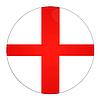 Photo 300 DPI: England button with flag