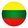 Фото 300 DPI: Литва иконка с флагом