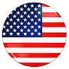 Photo 300 DPI: United states flag icon