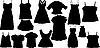 Набор моды silhouettes
