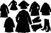 Мода silhouettes