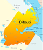 Vector clipart: Djibouti