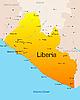 Vektor Cliparts: Liberia