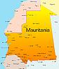 Vector clipart: Mauritania