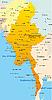 Векторный клипарт: Мьянма