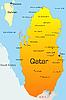 Векторный клипарт: Катар